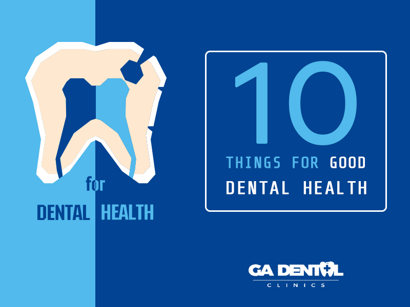 Do's and Dont's for Dental Health
